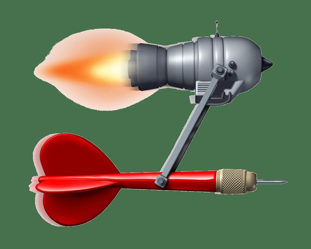 Target Rocket graphic